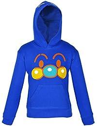Gkidz Infants Royal Blue Hooded Full Sleeve Hooded Sweatshirt(WWB-012-ROYAL_Royal)