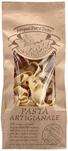 Antico Pastificio Umbro Pasta artigianale Pappardelle - handwerkliche Bandnudeln aus Hartweizengrieß, 2er Pack (2 x 500 g)