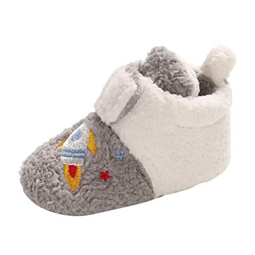 Snakell Baby Jungen Mädchen Lauflernschuhe Kleine Schafe rutschfest Schuhe Babyschuhe Krabbelschuhe Neugeborenes Prewalker Schuhe Winter warme Baby Aufladungs Krippe Schuhe Weiche untere Baby Schuhe