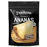 Zuckersüße Bio getrocknete Fair Trade Ananas-Ringe Cayenne Trockenfrüchte getrocknet 500g Rohkost-Qualität ohne Zucker ungeschwefelt unbehandelt ungezuckert