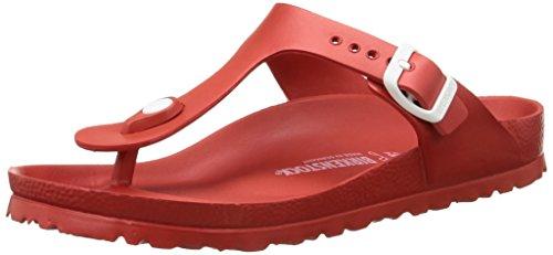 Birkenstock Gizeh EVA Unisex-Erwachsene Zehentrenner, Rot (Red), 41 (Erwachsene Kairo Schuhe)