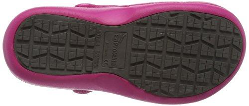 Toffeln Eziprotekta Unisex-Erwachsene Sicherheitsschuhe, Schwarz (Schwarz), 42 Pink (Hot Pink)