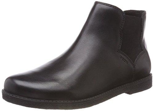 Geox Mädchen J Shawntel Girl B Chelsea Boots, Schwarz (Black C9999), 34 EU