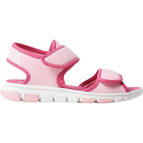 Reebok Mädchen Wave Glider Iii Dusch-& Badeschuhe, Mehrfarbig Light Pink 000, 35 EU