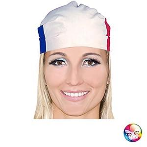 Aptafêtes-ac2800-Bandana poliéster Francia Talla 53x 53cm