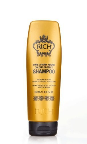 RICH Pure Luxury Argan Color Protect Shampoo 8.45oz by Rich Company by RICH Hair Care