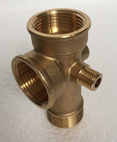 Hauswasserwerk megafixx S5-50ES 1100 Watt 50 Liter Edelstahl Druckkessel - 6