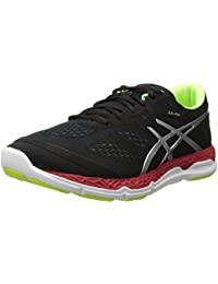 Zapatillas de running 33-FA para hombre, Onyx / Flash Yellow / Chinese Red, 8 M US