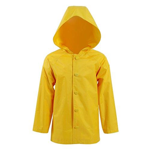 Kostüm Beliebte Kinder - Yewei Clown Beliebt Horrorfilm Georgie Kostüm Jungen Gelb Regenjacke Kostüm (Gelb, Mass Angefertigt)