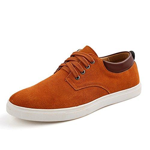 CUSTOME Hommes Chaussures Baskets Style Décontracté Plates Suède Confortable flâneurs Chaussures