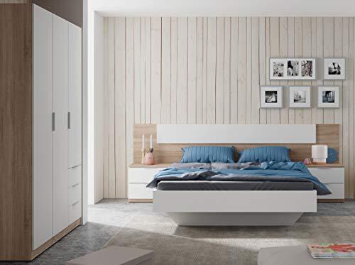 Miroytengo Pack Muebles Dormitorio Estilo nórdico