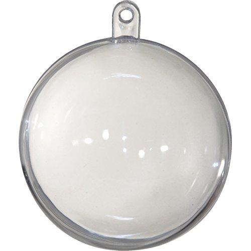 CREATIV DISCOUNT ® Kunststoff/Plastik Kugel, 20 cm, 1 Kugel (1 Kunststoff-kugeln)