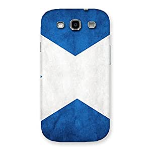 Enticing X Fin Blue Back Case Cover for Galaxy S3 Neo