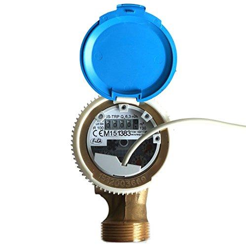 Ferro Smart Compteur d'eau froide avec interrupteur Reed pouls émetteur 6,3 M3/H antimagnétique