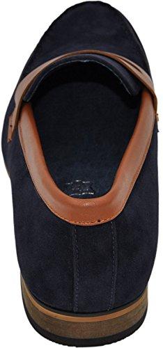 mocassins homme à doublure intérieure cuir mocassin1 camel bleu