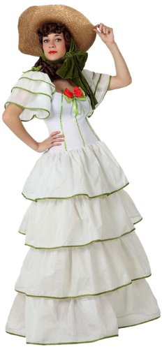Atosa 8422259156109 - Verkleidung Südstaatendame, Erwachsene (Scarlett O'hara Kostüm)