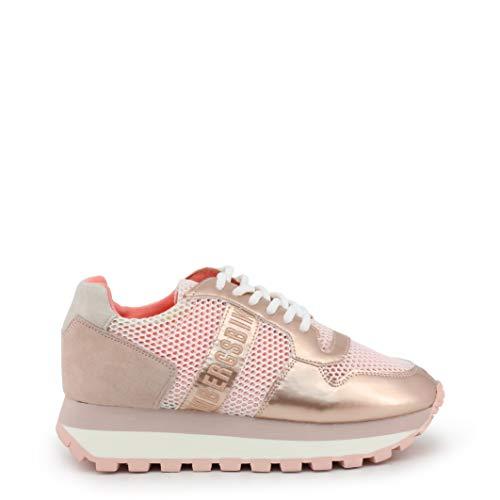 Bikkembergs Scarpe Basse Sneakers Donna Rosa (Fend-ER_2087-MESH)