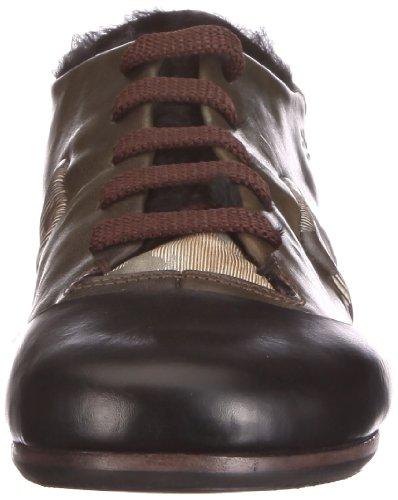 Mao 0040D, Baskets mode femme Noir-TR-F5-320
