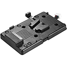 Andoer BMD URSA Series V-Mount V-Lock Battery Plate Adapter 11V-16.8V Input and Output Power Supply for Blackmagic Design URSA/ URSA Mini 4K/ URSA Mini 4.6K/ URSA Mini Pro Camcorder