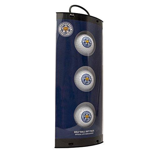 Leicester City Golf Bälle Geschenk-Set, weiß (Geschenk-boxen Party City)