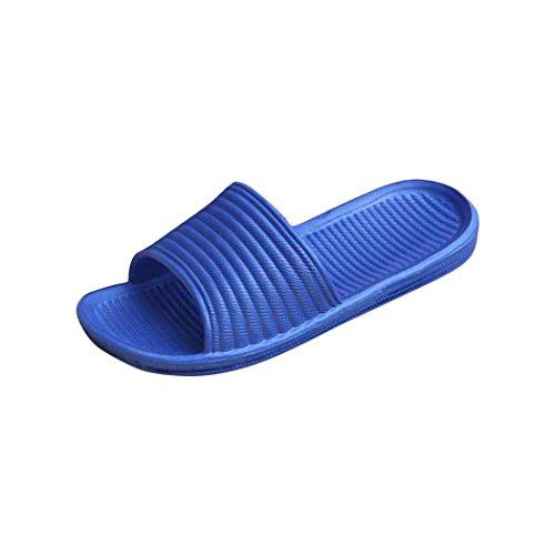 Spiaggia Uomini Pantofole Balneare Blu È Tonsee® E Piatta Striscia Coperto Stato All'aperto Sandali wq1twarxR