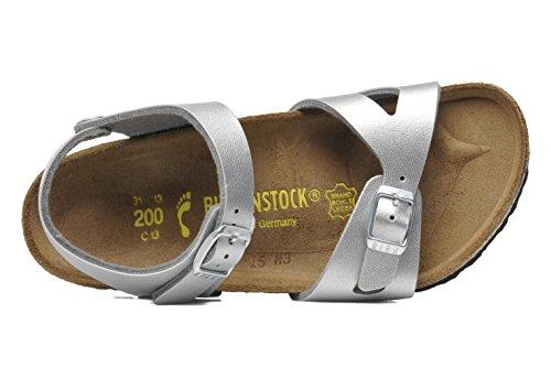 Birkenstock  Rio, chaussons d'intérieur mixte enfant Silber