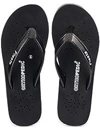 Frestol Black Slipper For Womens
