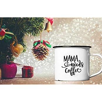 Tasse Mama needs Coffee Geschenk zur Geburt Weihnachtsgeschenk für müde Mamas