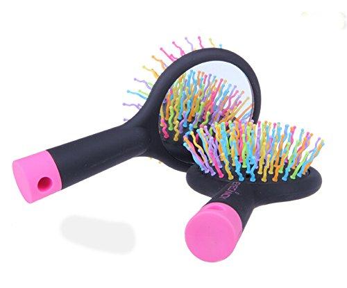 Ducomi Brosse Antistatique pour Cheveux Magique Cheveux différents Coloris Disponibles, Rose