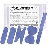 Söhngen Nachfüllset Pflasterset Detectable für Erste-Hilfe-Füllung 5 Sets a 10 Stück