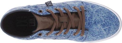DC Shoes  Bristol Mid le J Shoe Gbc, Hi-Top Slippers femme Bleu - Blau (NAVY/DK CHOCO)