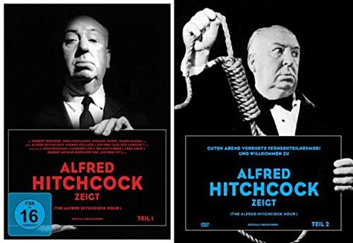 Master Of Suspense - ALFRED HITCHCOCK ZEIGT - Teil 1 & 2 - 20 zeitlos spannende Krimi- und Mystery Geschichten 6 DVD Limited edition