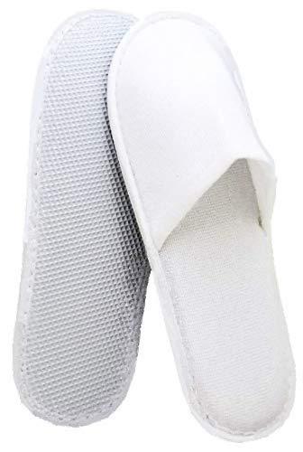 Ciabatte monouso linea cortesia hotel b&b pantofole chiuse 100 paia colore bianco usa e getta taglia unica 30 cm cartone da 100 paia ideale per hotel b&b centro benessere