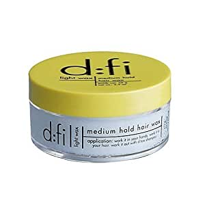 dfi light Wax Medium Hold Hair Styling Waxes [Kitchen] by D:Fi [Beauty] (English Manual)
