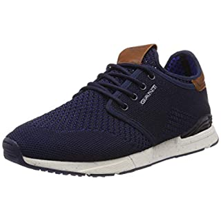 Gant Footwear Men's Atlanta Low-Top Sneakers, Blau (Marine G69), 8 UK
