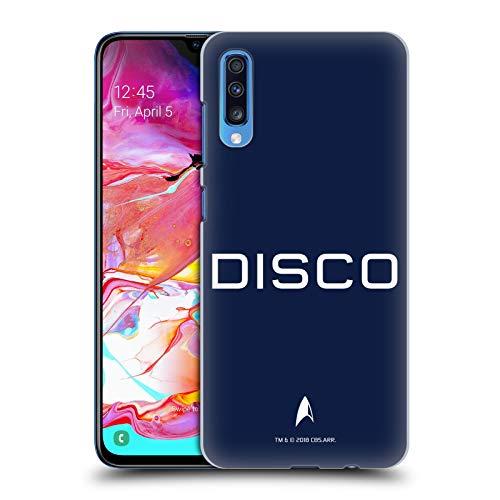 Head Case Designs Offizielle Star Trek Discovery Zufällig Uniformen Harte Rueckseiten Huelle kompatibel mit Samsung Galaxy A70 (2019) (Uniform 2019 Trek Star)