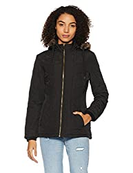 Fort Collins Womens Cape Hoodie (6639 AZ-Black_M)