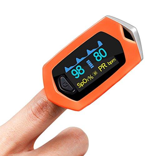 Verbandkasten XXGI Oximeter Medizinische Sauerstoffsättigung Detektor Pulsmesser und Fingertip Pulsoximeter und Finger Pulsoximeter & Pulsoximeter Blutsauerstoff (6.18X3.31X2.63Cm (2.43X1.3X1.04Inch) -