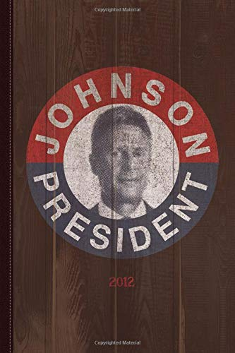 Gary Johnson for President 2012 Vintage Journal Notebook: Blank Lined Ruled For Writing 6x9 120 Pages por Flippin Sweet Books