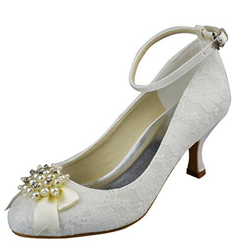 Minitoo , Bride de cheville femme Blanc