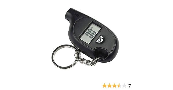 Rokoo Tragbare Mini Lcd Digital Reifen Reifen Luftdruckprüfer Tester Keychain Für Auto Lkw Fahrrad 3 150psi Gewerbe Industrie Wissenschaft