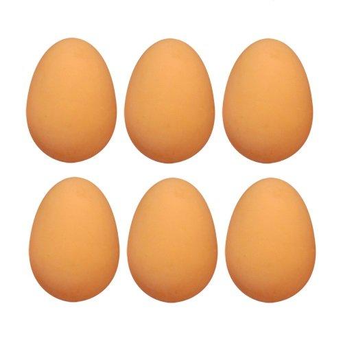 6 x Bouncy Eggs Rubber Balls - Gefälschte Eier