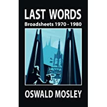 Last Words: Broadsheets 1970 - 1980