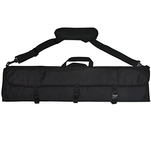 ZSHJG Bogenschießen Durable Bow Bag Portable Bogen Fall für Takedown Recurve Bögen (Schwarz)