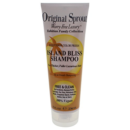 Original Sprout Island Bliss Shampoo (236ml, 100% Vegan, No Parabens)