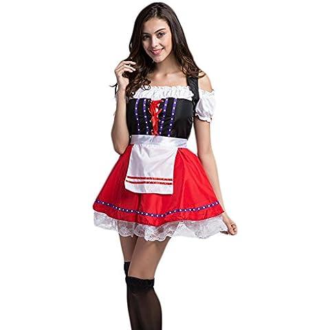 Molie Se visten bávaro Oktoberfest disfraz Halloween Bar de las mujeres Cosplay ropa