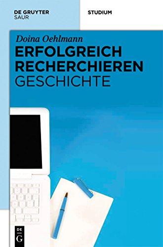 Libro Epub Gratis Erfolgreich recherchieren -  Geschichte