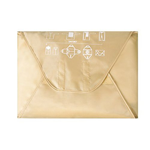 HilltopToCloud Hemdentasche Kleiderhülle knitterfreier Transport in Koffer Reisetasche oder Handgepäck mit Faltbrett Pack-it Garment Folder (Knitterfrei Oxford-hemd)