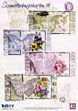 Reddycards Schmetterlingkarten mit 3D Blumen Bastelset 15tlg., Nr.3