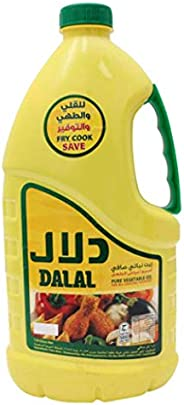 Dalal Pure Vegetable Oil For All Cooking Purposes, 1.5 Liter - Pack of 1, 0113013